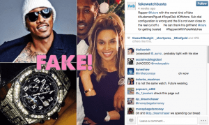 DON DIVA MAGAZINE - INSTAGRAM RAPPERS WITH FAKE WATCHES