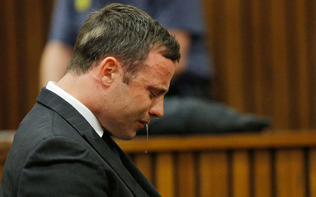 Pistorius Crying
