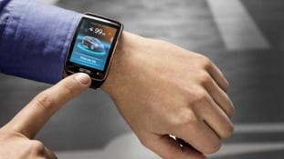 BMW that can be parked via smartwatch