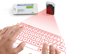 VIRTUAL KEYBOARD FOR YOUR CELL PHONE