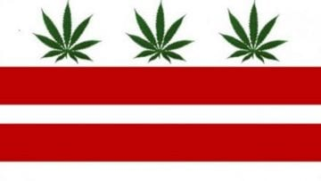 DC Weed Flag