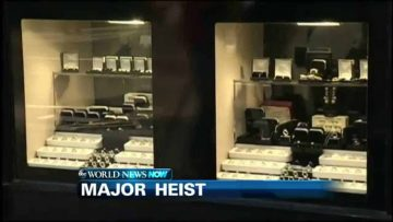 THIEVES PULL OFF MAJOR JEWELRY HEIST IN LONDON