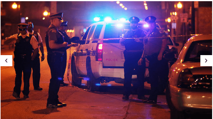 62 Shot, 10 Dead In Chicago Shootings Over July 4th Weekend