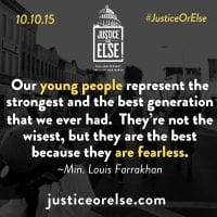 Justice Or Else Quote