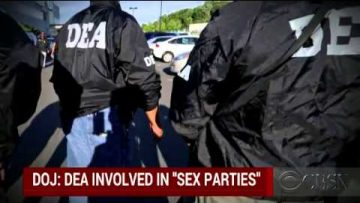 Report DEA agents involved in sex parties
