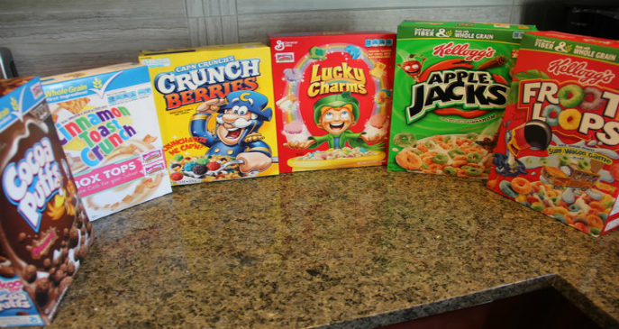 Heroin Cereal boxes