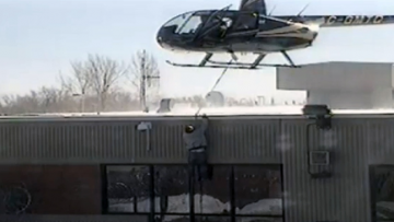 Helicopter Prison Escape