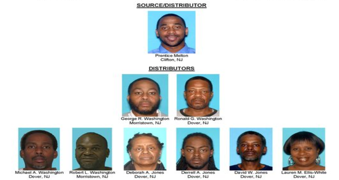 Morris County Bust 2