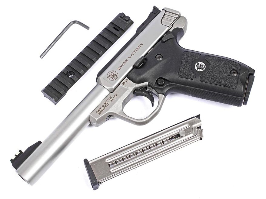 7 SMITH & WESSON SW22 VICTORY