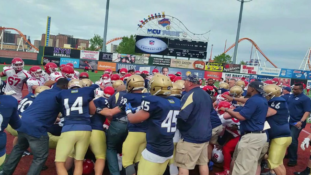 NYPD & FDNY Goons Rumble At Charity Football Game [VIDEO]