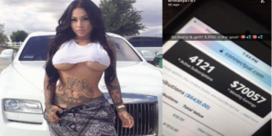 THIRST TRAP EMPIRE: Former Reality Show Vixen Making $70 Racks A Month Online