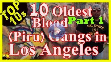 The 10 Oldest Active Blood Gangs (Piru) in LA [PART 1]