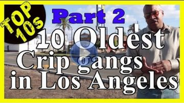 The 10 Oldest Active Crip Gangs In LA [PART 2]