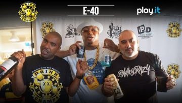 Interview: E-40 Just Stopped In On The Drink Champs Podcast!! [VIDEO]