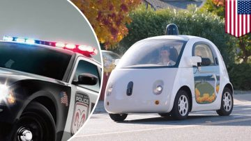 WYD???: Google's Self-Driving Car Will Pull Over For Cop Cars Automatcally