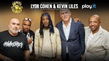 Lyor Cohen & Kevin Liles Drop In On The 'Drink Champs,' NORE and DJ EFN