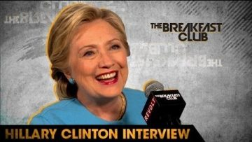 Presidential Candidate Hillary Clinton Interviewed By The Breakfast Club [VIDEO]