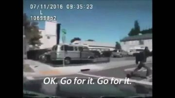 Sacramento Police Caught On Tape Attempting To Run Psychiatric Patient Over Before Shooting Him