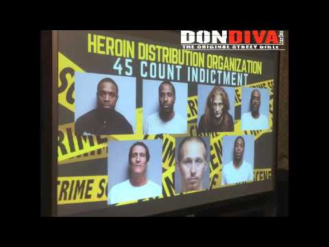 45-Count Indictment Handed Down In Broome County, NY Heroin Kingpin Case
