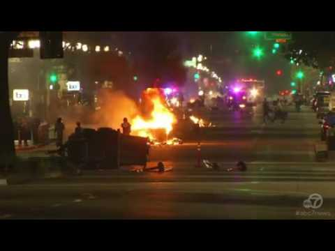 Donald Trump's Victory Sparks Outrage in Oakland Streets  [Video]