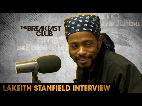 LaKieth Stanfield Slides Thru The Breakfast Club To Talk 'Atlanta,' 'Straight Outta Compton' & More