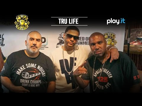 Tru Life Sits Down For Exclusive Interview w/ The 'Drink Champs'