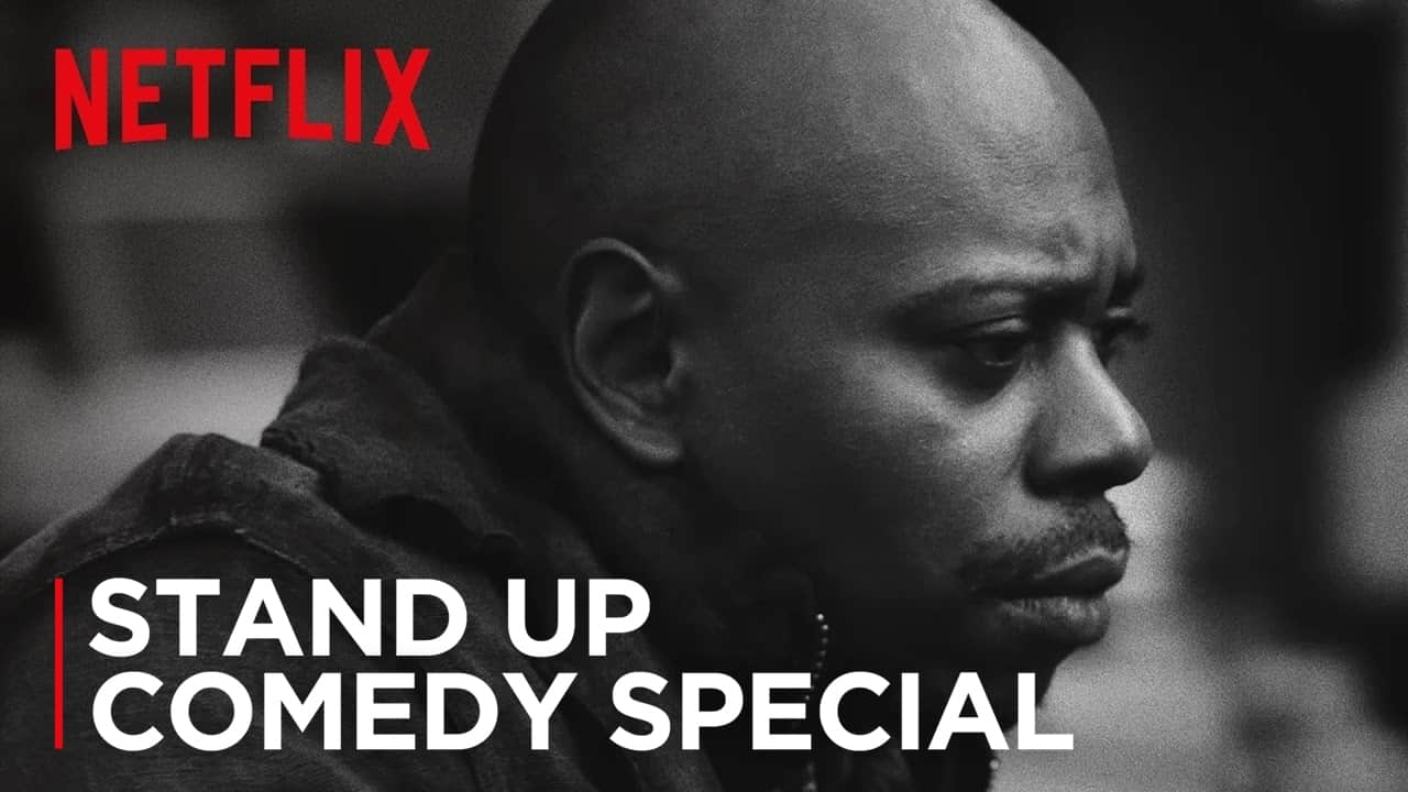 New Trailer For Dave Chappelle's Upcoming Netflix Specials