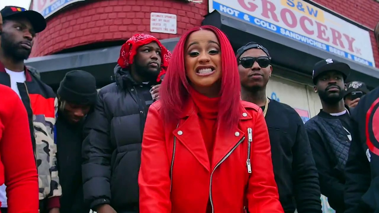 "Cardi B- ""Red Bars"" [FREESTYLE]"