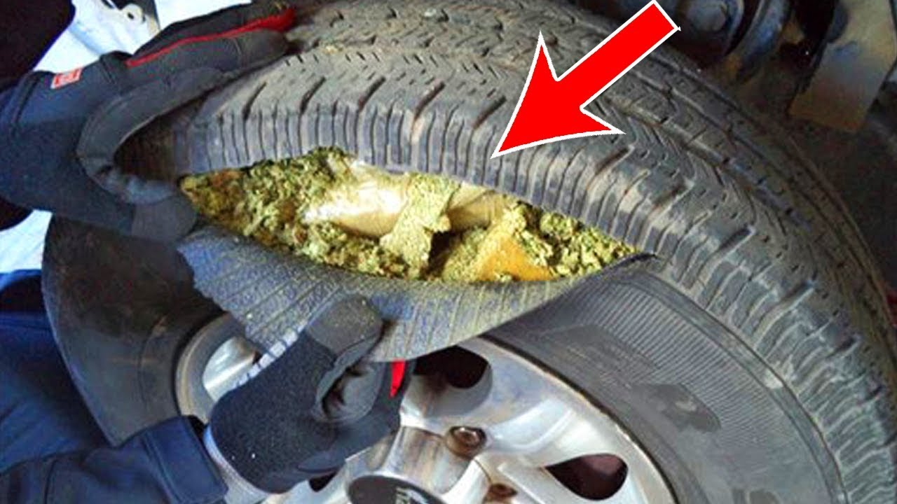 10 Crazy Ways Drug Dealers Smuggle Drugs