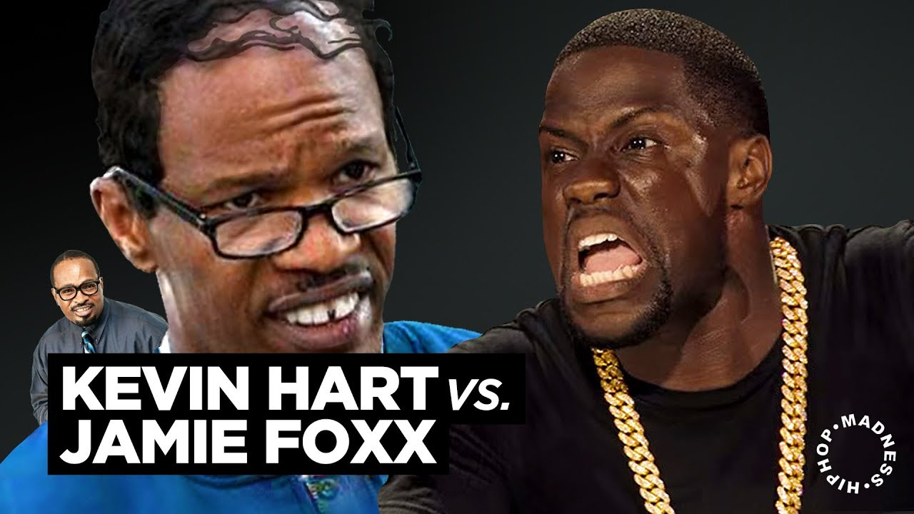 LMAO: Jamie Foxx & Kevin Hart Get Into Heated Roast Battle