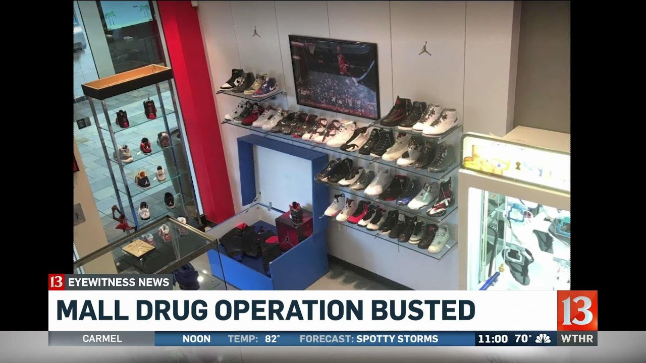 Mall Shoe Store Shut Down After Drug Bust