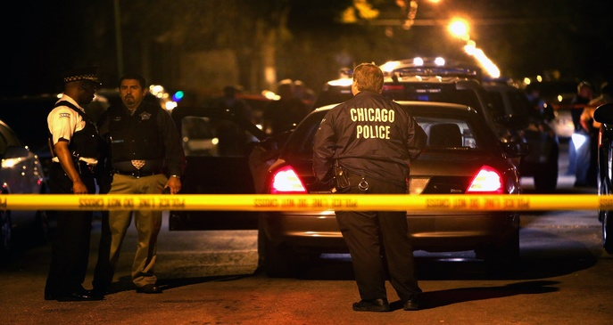 Homicides & Shootings Down In Chicago