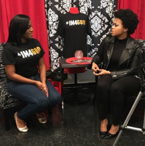 Chrisette Michele Surprises Gold Star Widow at her Baby Shower!