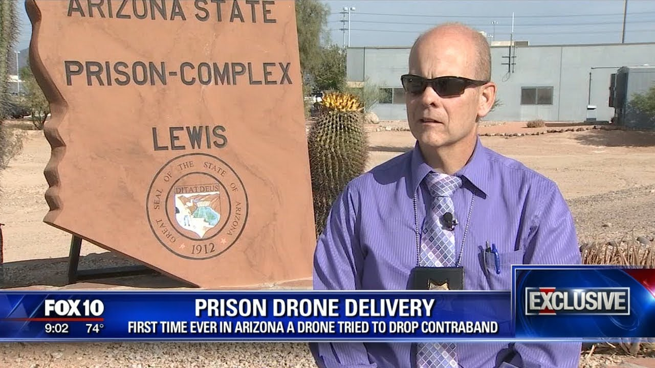 Drone Bringing Weed & Cell Phones Into Arizona Prison Recovered