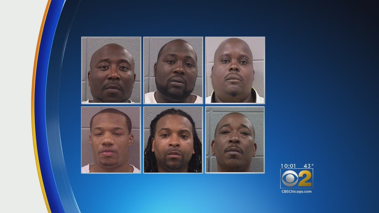 Six Leaders Of Chicago's Black Souls Convicted In First Test Of Illinois' RICO Law