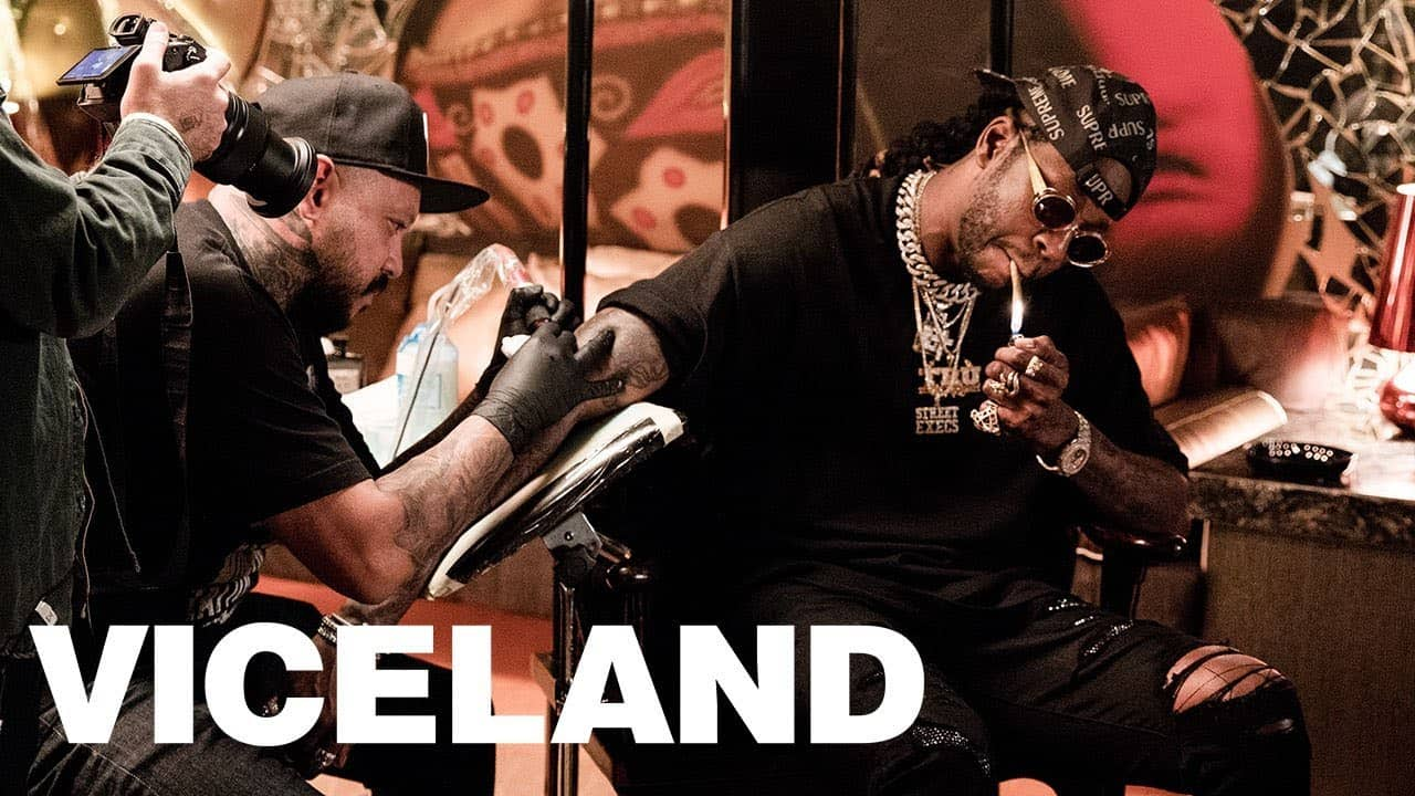 2 Chainz Gets Tattooed With Rare $1,000 Ink