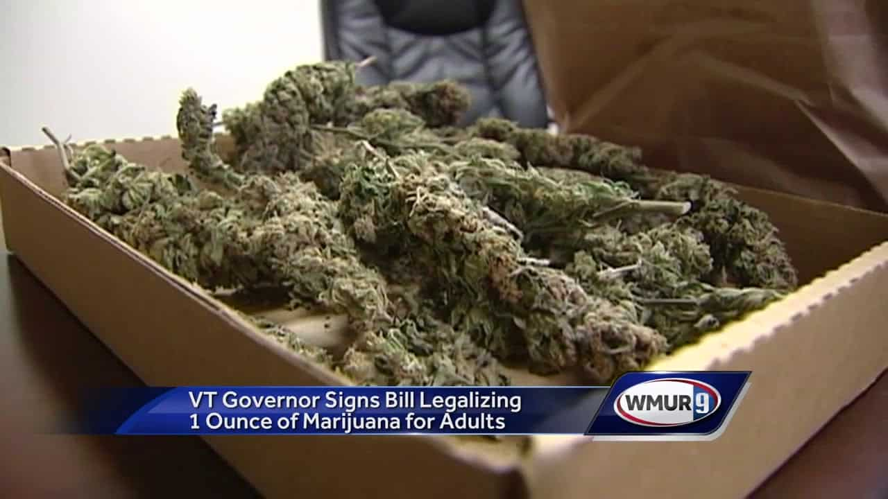 Recreational Cannabis Use Becomes Legal In Vermont On July 1