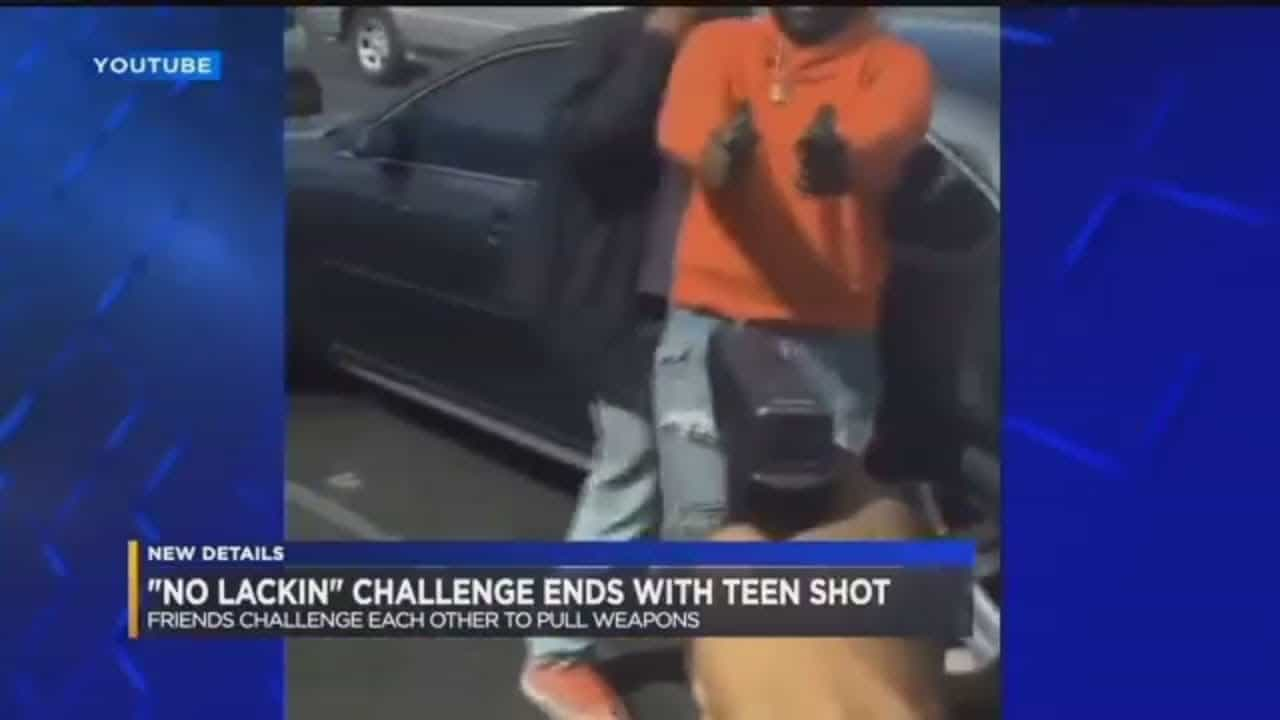 "Teen Shot In Head After ""No Lackin Challenge"" Goes Wrong"