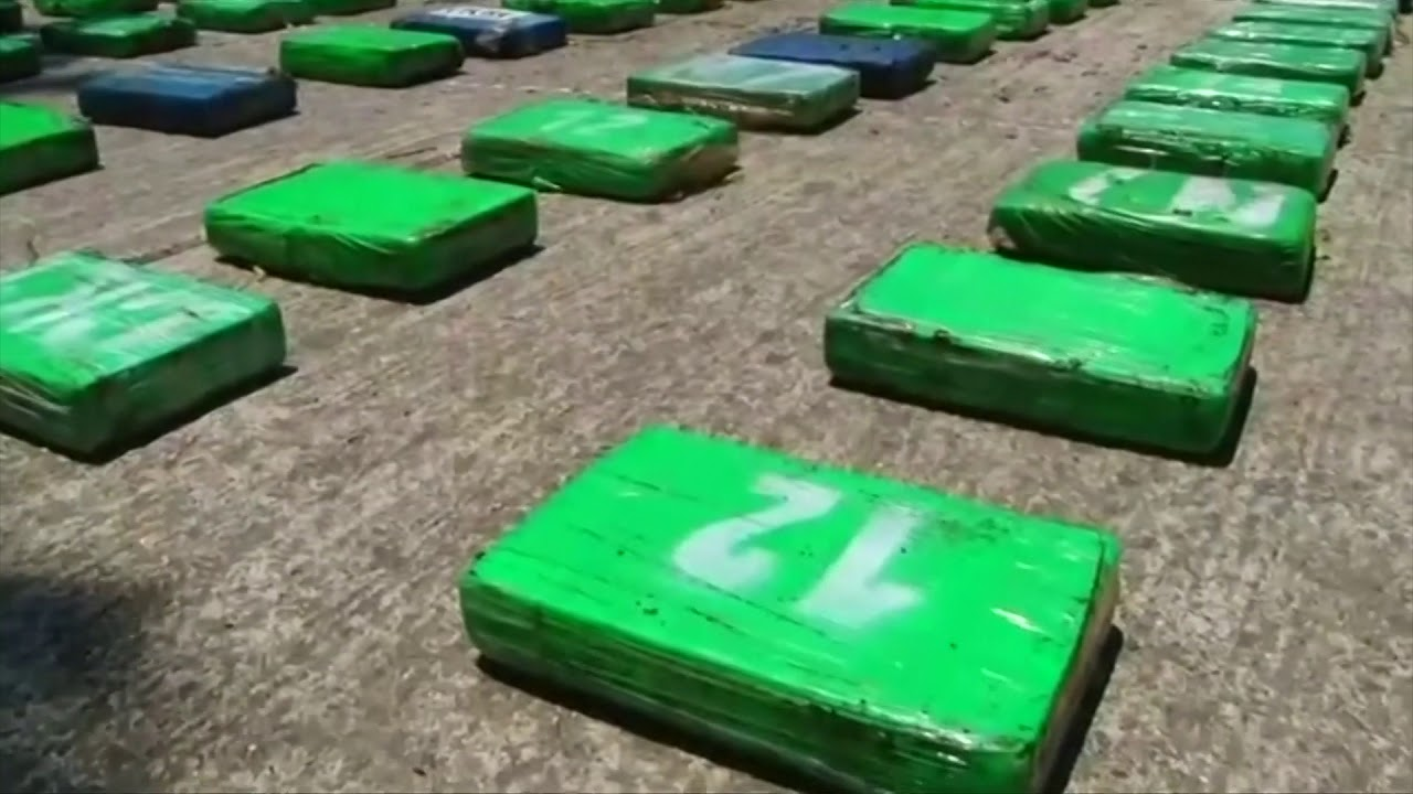 Colombian Police Nab 2 Tons Of Cocaine