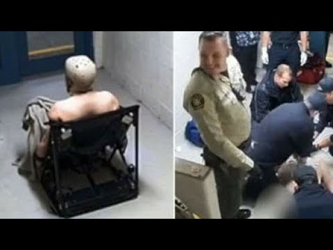 Cops Laugh As A Schizophrenic Inmate Dies In His Cell After Being Strapped Naked To A Chair