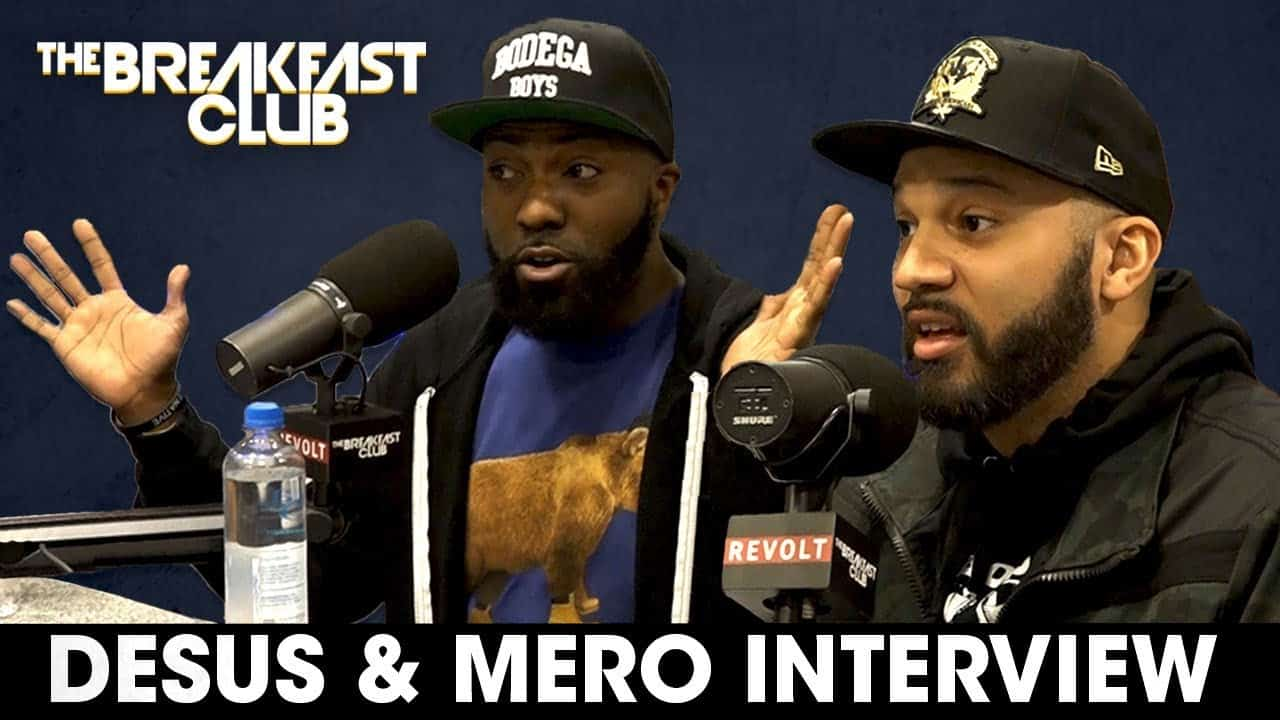 Desus & Mero Pressed By DJ Envy In Heated Breakfast Club Interview