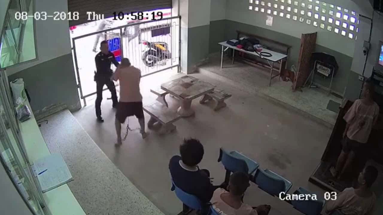 Inmate's Dramatic Escape Caught On Camera