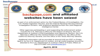 Backpage.com Has Been Seized By The Feds