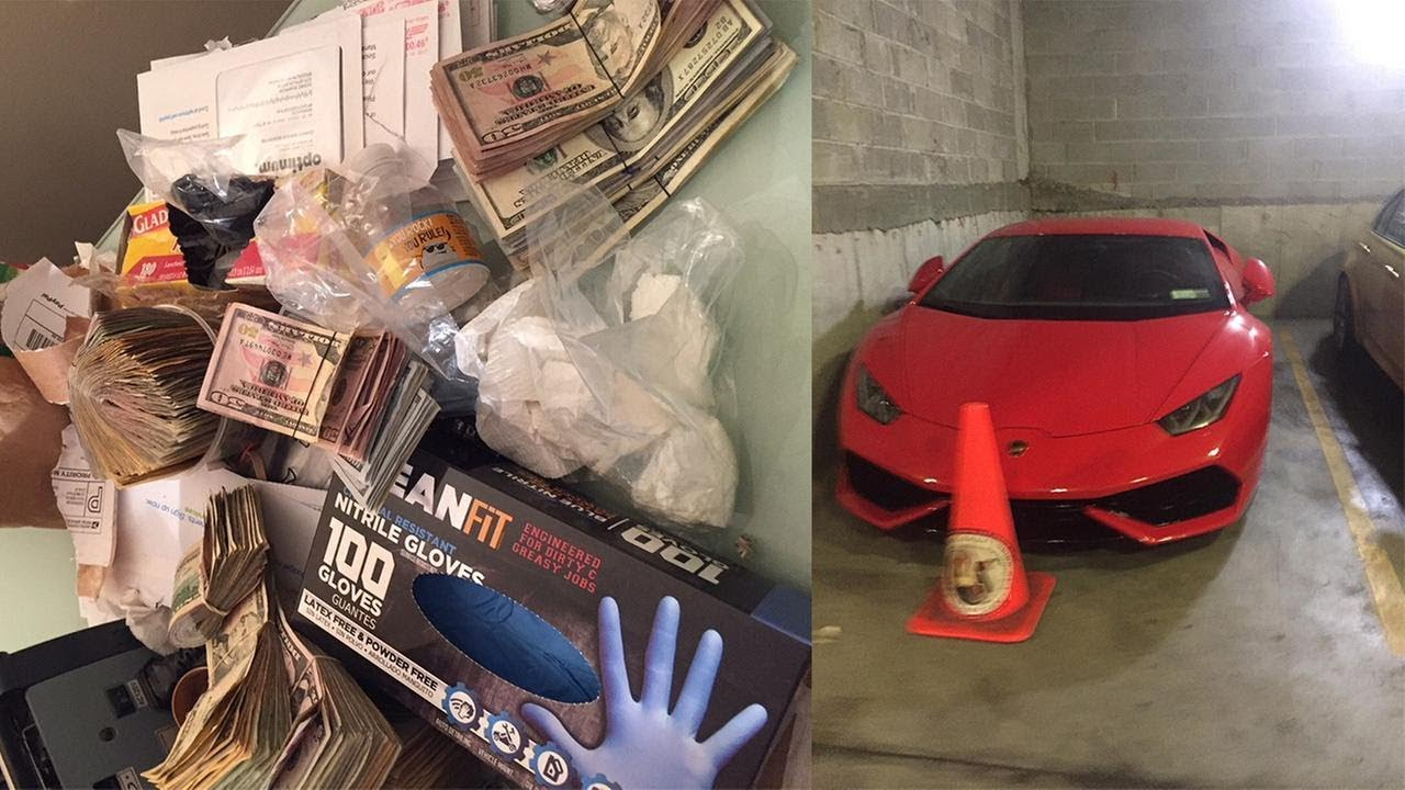 Cash, Weapons, Lamborghini Seized In Major Drug Bust In Queens & Brooklyn