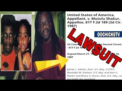 Mutulu Shakur (2pac's Stepdad) Files Lawsuit Against US Government