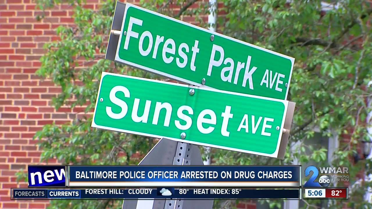 14-Year Veteran Of The Baltimore PD Arrested On Drug Trafficking Charges