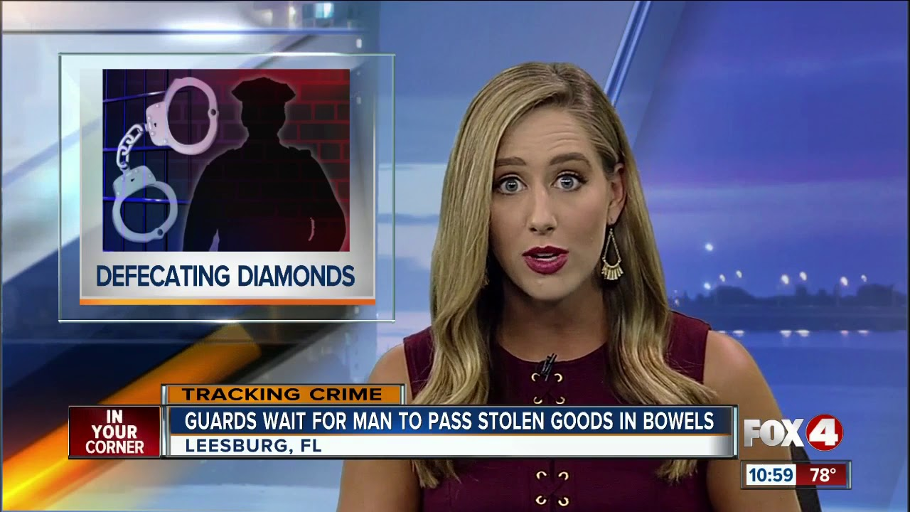 Guards Wait For Inmate To Pass Diamond Earrings He Swallowed
