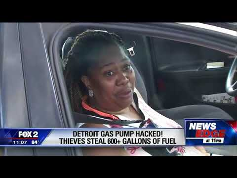 Scammers Hit A Lick On A Detroit Gas Station For 600 Gallons Of Free Gas