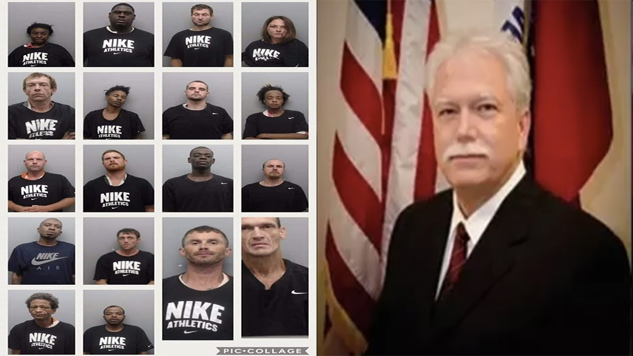 Arkansas Sheriff Rick Roberts Forced Inmates To Wear Nike Shirts During Booking Photos