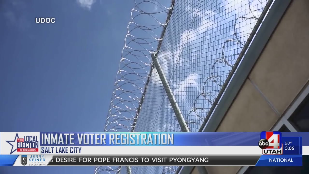 Black Lives Matter Utah Spearheads Effort To Register Inmates To Vote